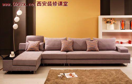 欧式布艺沙发: 款式比较大
