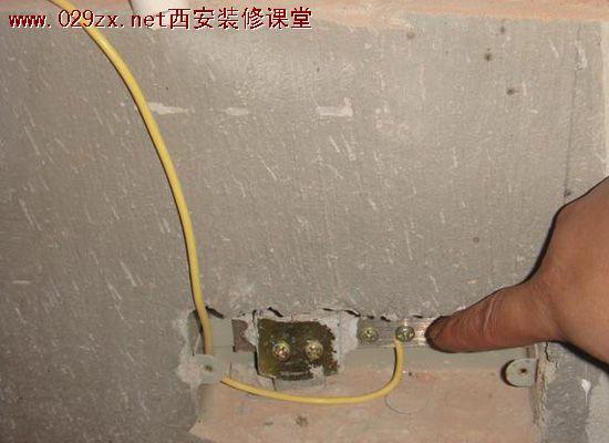 不如将此电位由接地线引入接地装置来