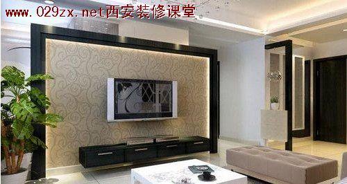 欧式风格电视墙设计