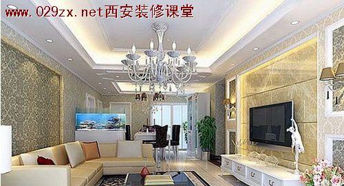 首页 家装设计方法 客厅装修设计 >> 内容  欧式客厅电视背景墙
