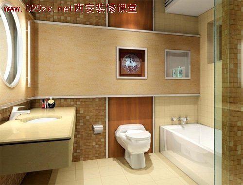 卫生间装修设计 >> 内容  6,水路改造:卫浴间的给排水线路最好不要做